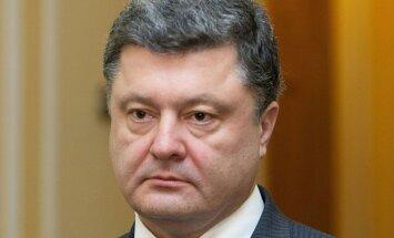 Krievija vēlas izjaukt Ukrainas prezidenta vēlēšanas, uzskata Porošenko