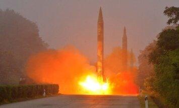 Запущенная КНДР баллистическая ракета едва не ударила по Японии