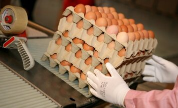 Tirgotāji: jau pirms Lieldienām olu cenas varētu pieaugt aptuveni par 40%