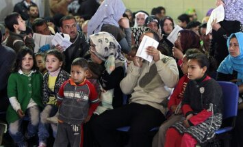 Sīriešu bēgļu skaits pārsniedzis miljonu