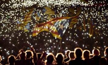 Izjūk Katalonijas separātistu koalīcija