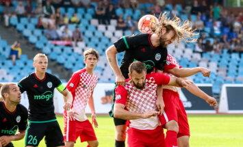 'Spartaks' un 'Liepāja' aizvada bezvārtu neizšķirtu Latvijas futbola virslīgā