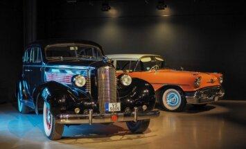 Foto: Motormuzejā atklāta izstāde ar jaunākajiem restaurētajiem auto