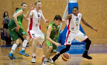'Barons/ LDz', 'Valmierai' un 'Jēkabpilij' uzvaras BBL spēlēs