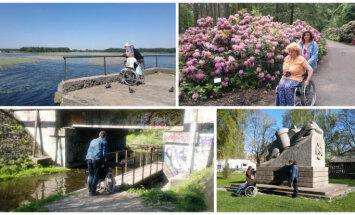 Pārbaudīti un interesanti pastaigu maršruti Rīgā cilvēkiem ratiņkrēslos un jaunajām māmiņām