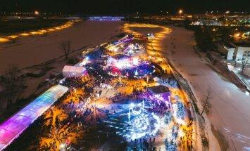 В Елгаве вновь пройдет фестиваль ледяных скульптур: время, место, цена билетов
