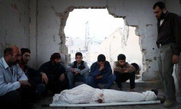 Traģiskais Alepo aplenkums draud atkārtoties Damaskas pievārtē