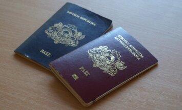 Ceļošanai vairs nebūs derīgas Latvijas pilsoņu pases ar 50 gadu termiņu