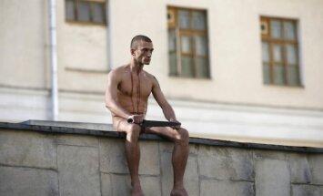 Krievijas mākslinieks - auss ļipiņas nogriezējs: Akcija izdevās, es jūtos lieliski!