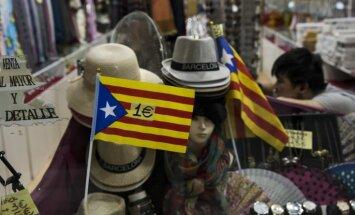 Spānijas un Beļģijas premjerministri apspriež krīzi Katalonijā