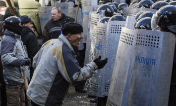 Kijevas Neatkarības laukumā pirmais bojāgājušais