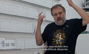 Slavojs Žižeks: 'Laibach' ir varas patiesās iedabas iznešana uz skatuves