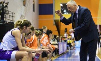 'TTT Rīga' apvienotā čempionāta mačā principiālā cīņā pieveic 'Vega 1/Liepāja' basketbolistes
