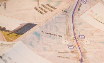 Государство одобрило проект трамвайной линии на ул.Сканстес в Риге