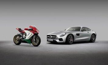'Mercedes-AMG' kļuvis par 'MV Agusta' līdzīpašnieku
