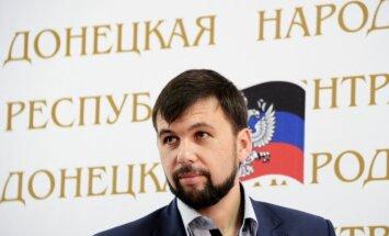 ASV noteikusi sankcijas pret vairākiem Ukrainas separātistu līderiem