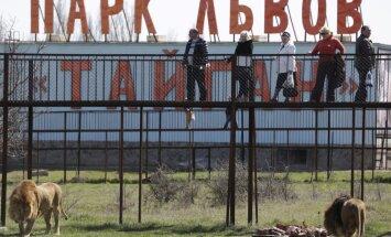 Krimas zoodārza direktors sacēlies pret 'beztiesisko' valsts iekārtu