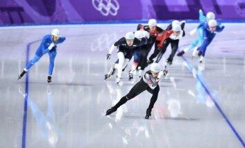 Эстонская конькобежка — четвертая в масс-старте, Силов просчитался и не прошел в финал
