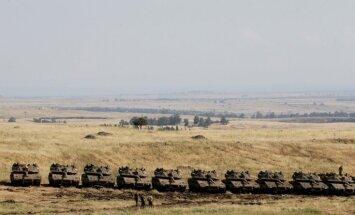 Sīrieši gatavojas 'lielajai dienvidu kaujai'; Krievija aicina ārvalstu spēkus atstāt Izraēlas pierobežu