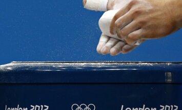 Krievijas svarcēlāji diskvalificēti no olimpiskajām spēlēm
