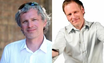 Ideju teniss: Dalībnieki - režisors Pauls Timrots un mūziķis, raidījumu vadītājs Ingus Ulmanis