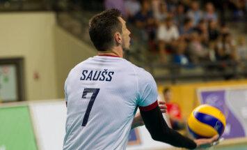 Latvijas volejbola izlases kapteinis būs Romāns Saušs