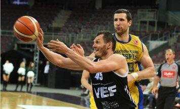 'VEF Rīga' basketbolisti nonāk vienas uzvaras attālumā no LBL čempiontitula