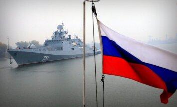 Ceturtdienas rītā pie Latvijas robežas pamana Krievijas izlūkkuģi