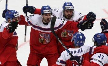 PČ hokejā: Čehija – Kazahstāna, ASV – Ungārija. Teksta tiešraides arhīvs