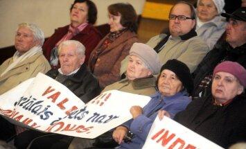 Пенсионеры призвали политиков пересмотреть порядок начисления пенсий