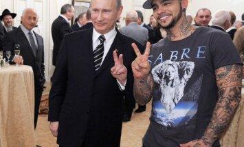 Pēc Saakašvili sašutuma atceļ pazīstamā krievu repera Timati koncertu Odesā