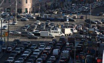 'TomTom' nosaucis pilsētas ar vislielākajiem satiksmes sastrēgumiem