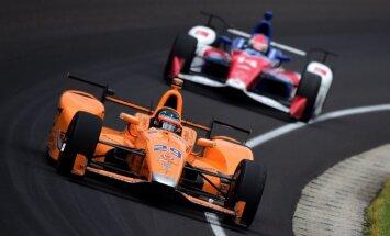 Alonso iegūst šāgada 'Indianapolis 500' labākā debitanta balvu