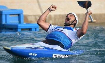 Francūzis Gargo Šanū kļūst par olimpisko čempionu kanoe slalomā