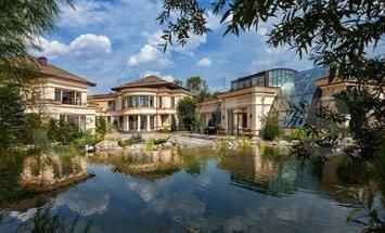 Foto: Pārdod pašu dārgāko māju Krievijā