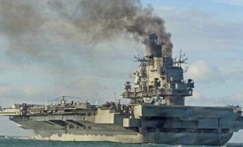 Soli pa solim: Kāda bija 'Admirāļa Kuzņecova' dūmojošā misija Vidusjūrā
