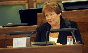 Čepāne: pārejas periodā pietiks ar 10 000 parakstu 'nīstās 11.Saeimas' atsaukšanas sākšanai