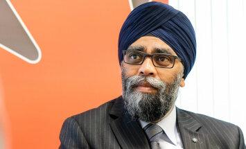 NATO nevar vienkārši pazust, intervijā 'Delfi' apliecina Kanādas aizsardzības ministrs Sadžans
