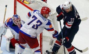 Pēc spēles ar Slovākiju Maksims Čudinovs tiek pie 17 šuvēm