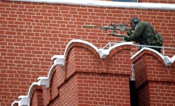 Foto: 9. maija parādē Krievijas armija demonstrē savu spēku