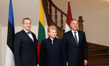 Baltijas valstu prezidenti Tallinā tiksies ar ASV prezidentu