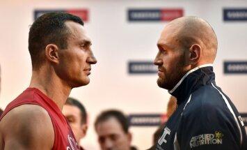 Tyson Furyn vs Wladimir Klitschko