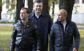 Janukovičs atrodas Kremļa sanatorijā, ziņo mediji