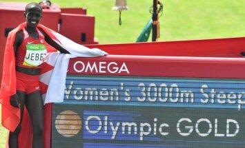 Mediji: Rio olimpiskā čempione Džebeta pieķerta dopinga lietošanā