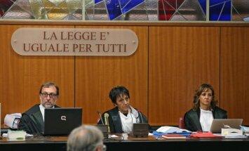 Romā sākas vērienīga tiesas prāva pret mafiju