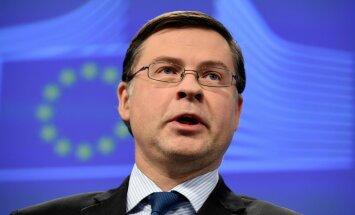 Dombrovskis neuzskata, ka Eiropas Savienībai nepieciešamas strukturālas reformas