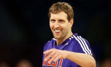 Novickis kļūst par sesto NBA spēlētāju ar 31 000 punktiem