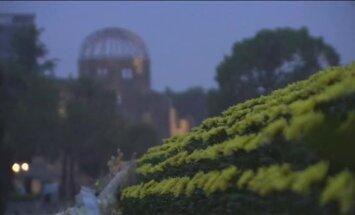 Japānā atzīmē Hirosimas bombardēšanas 69. gadadienu; atomieročus sauc par 'absolūtu ļaunumu'