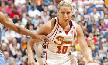 Jēkabsones-Žogotas pārstāvētā 'Mercury' ar uzvaru sāk WNBA konferences finālsēriju