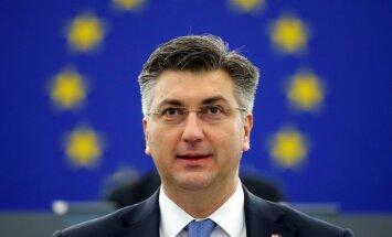 ES nākotnes diskusijas: EP viesojas Horvātijas premjers Plenkovičs